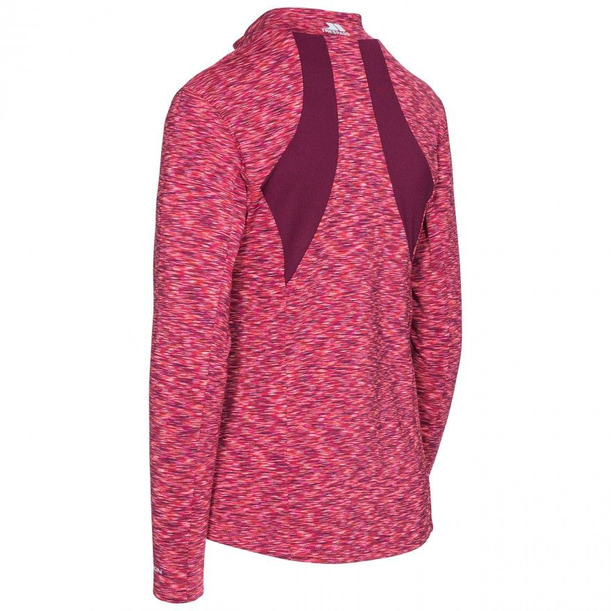 Trespass Womens/Ladies Indira Long Sleeve Full Zip Active Top
