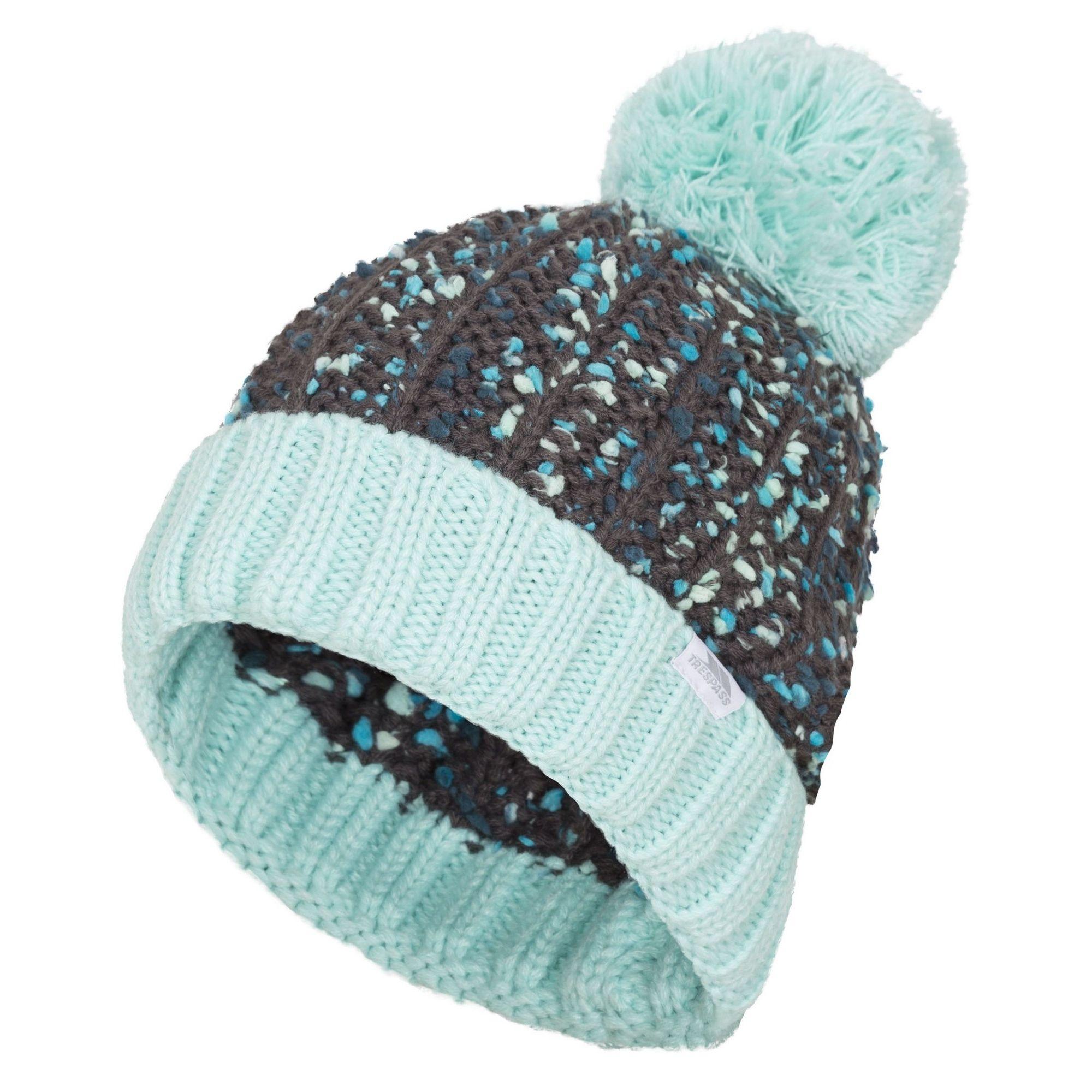 Trespass Womens/Ladies Eloise Knitted Pom Pom Beanie