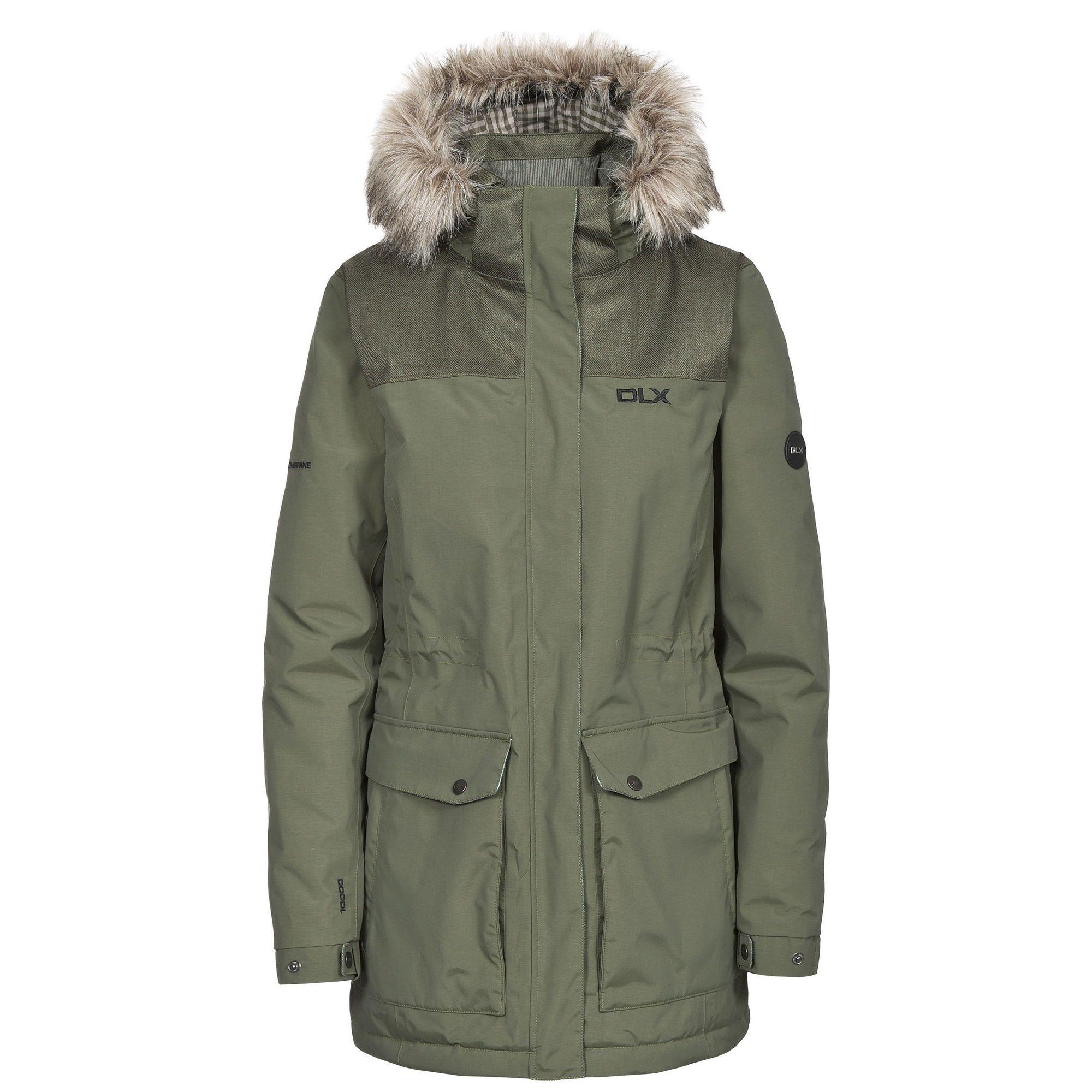 Trespass Women's Garner Waterproof DLX Parka Jacket
