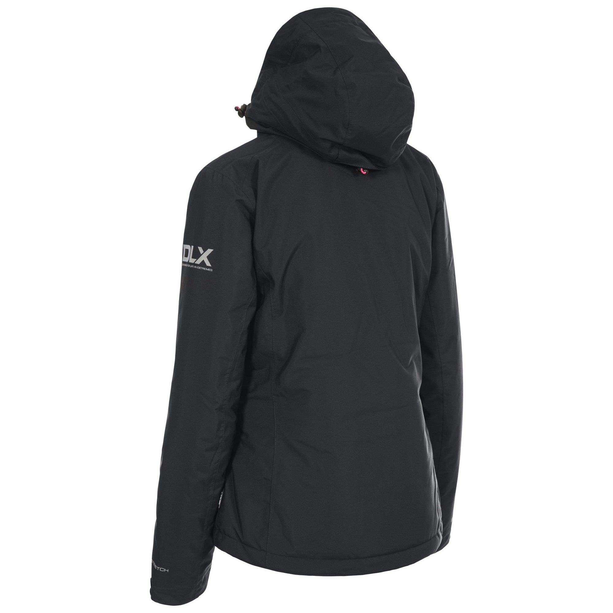 Trespass Womens/Ladies Hildy Waterproof DLX Ski Jacket (Raspberry)