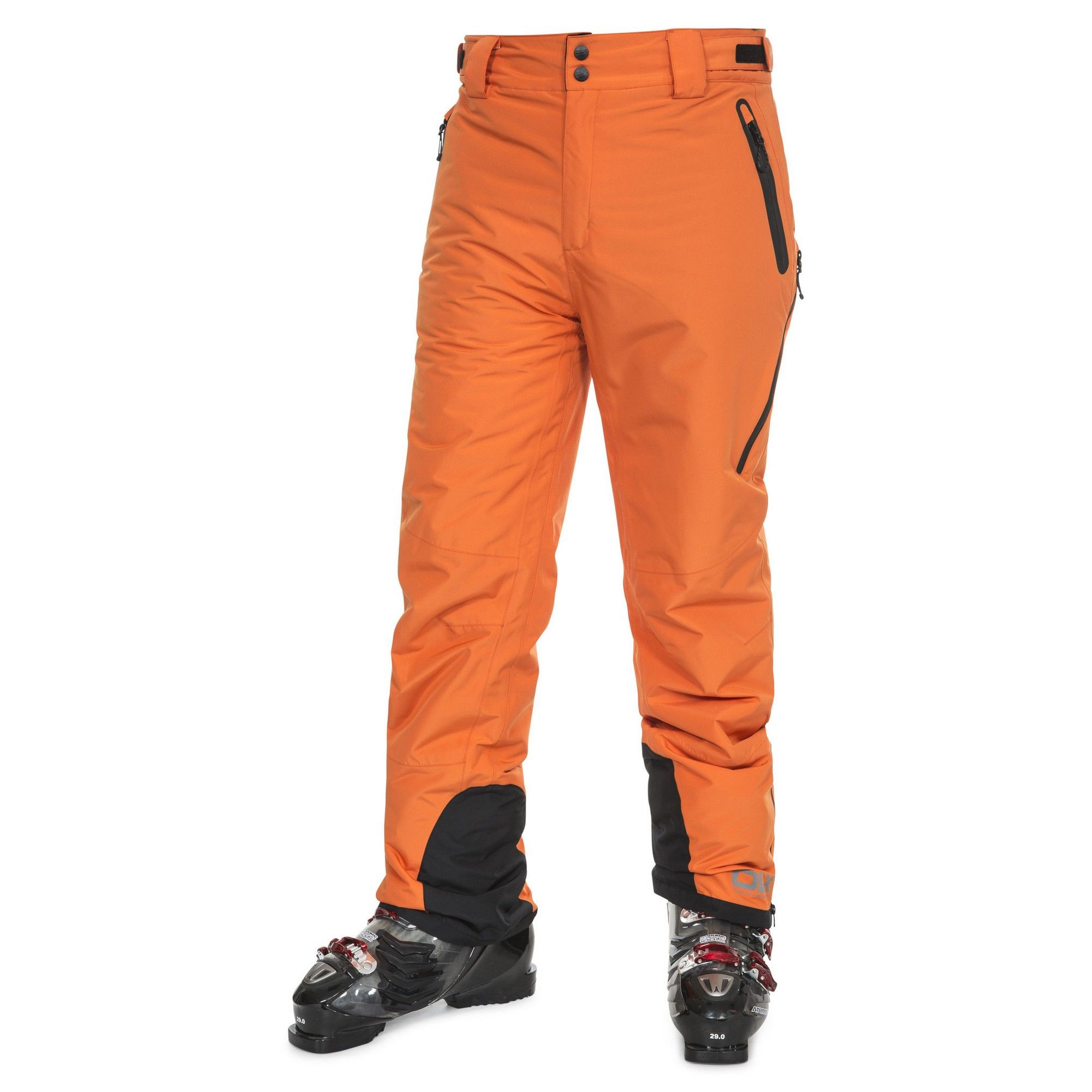 Trespass Mens Coffman Waterproof Ski Trousers (Sunrise)