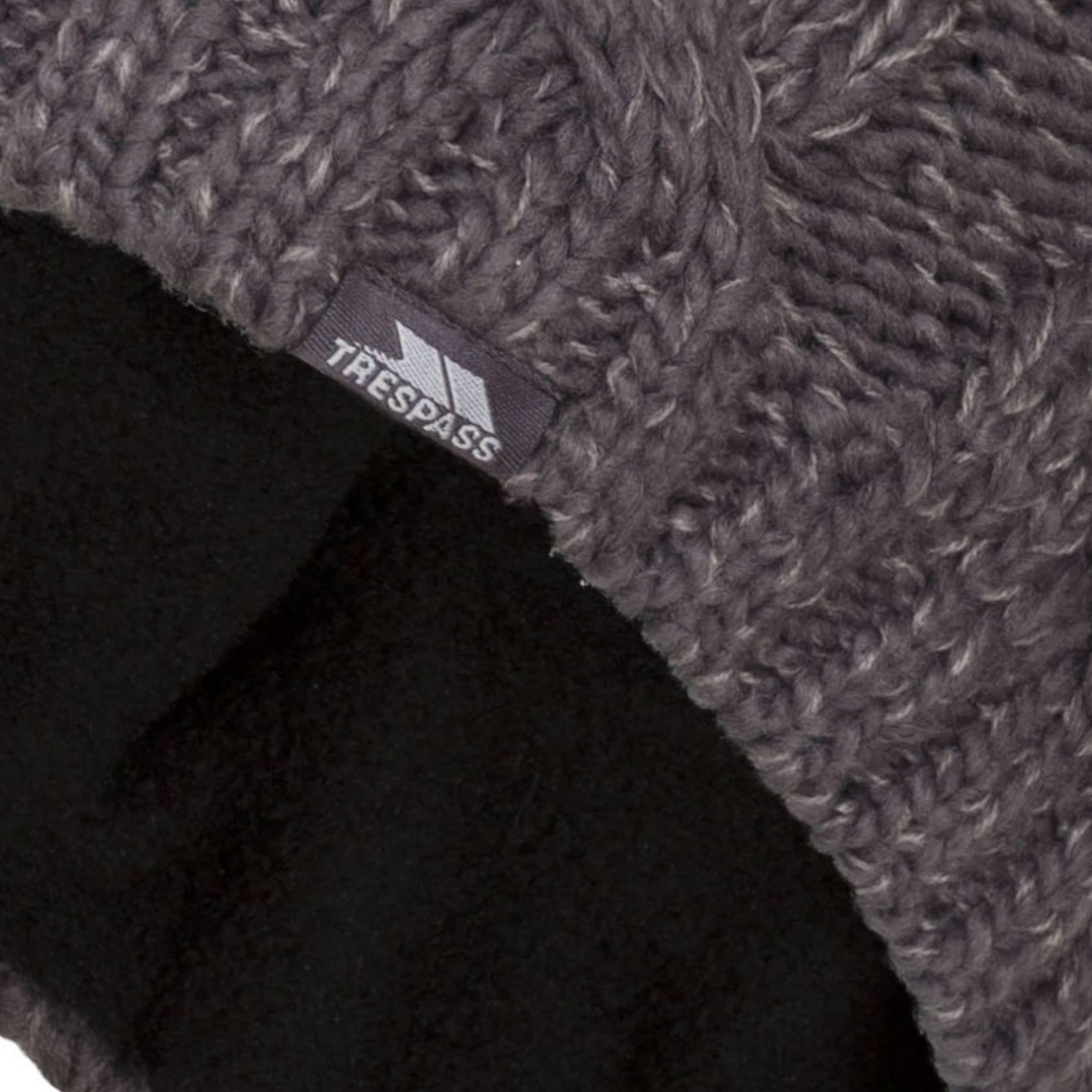 Trespass Mens Tomlins Knitted Beanie Hat