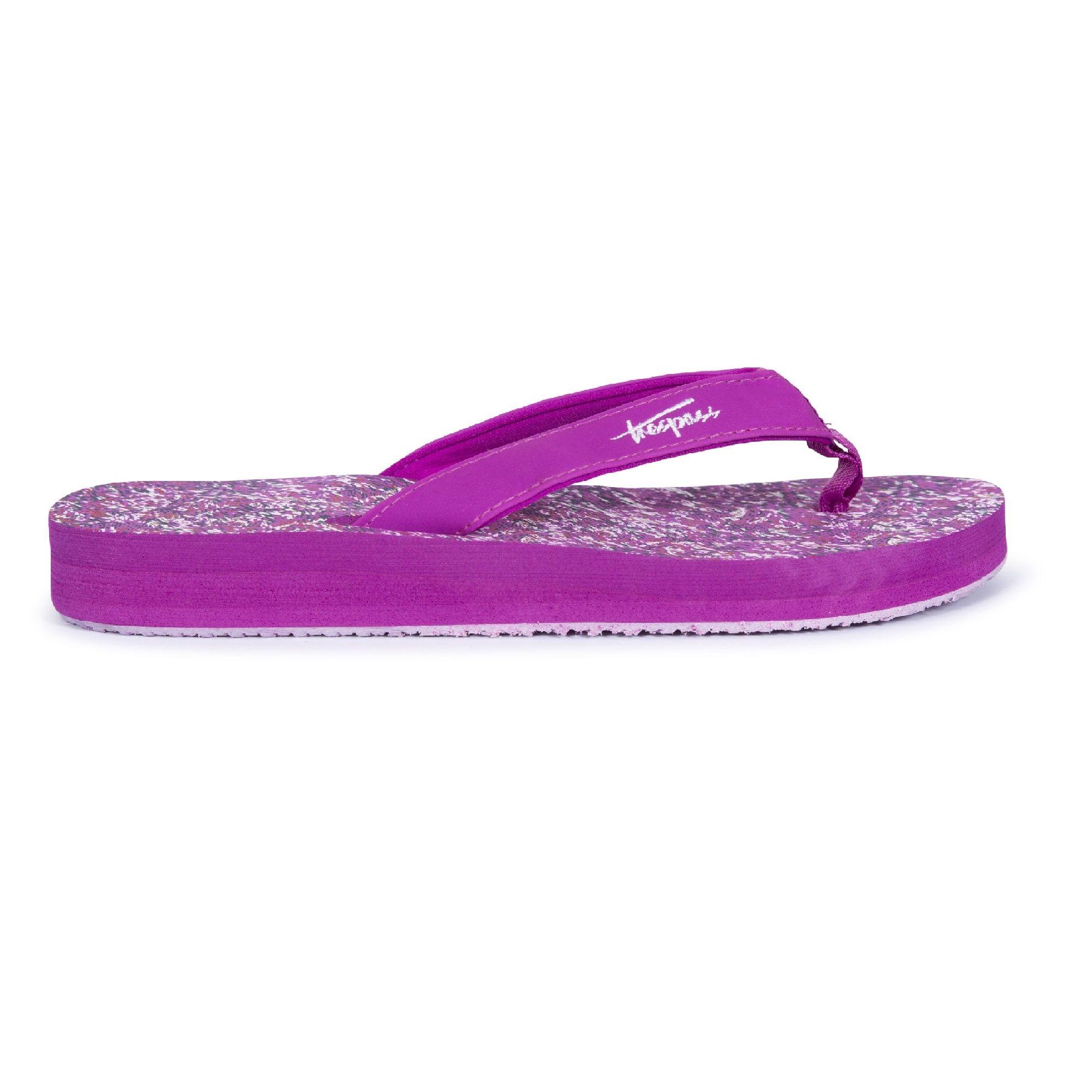 Trespass Womens/Ladies Caladesi Flip Flops (Pink Lady)