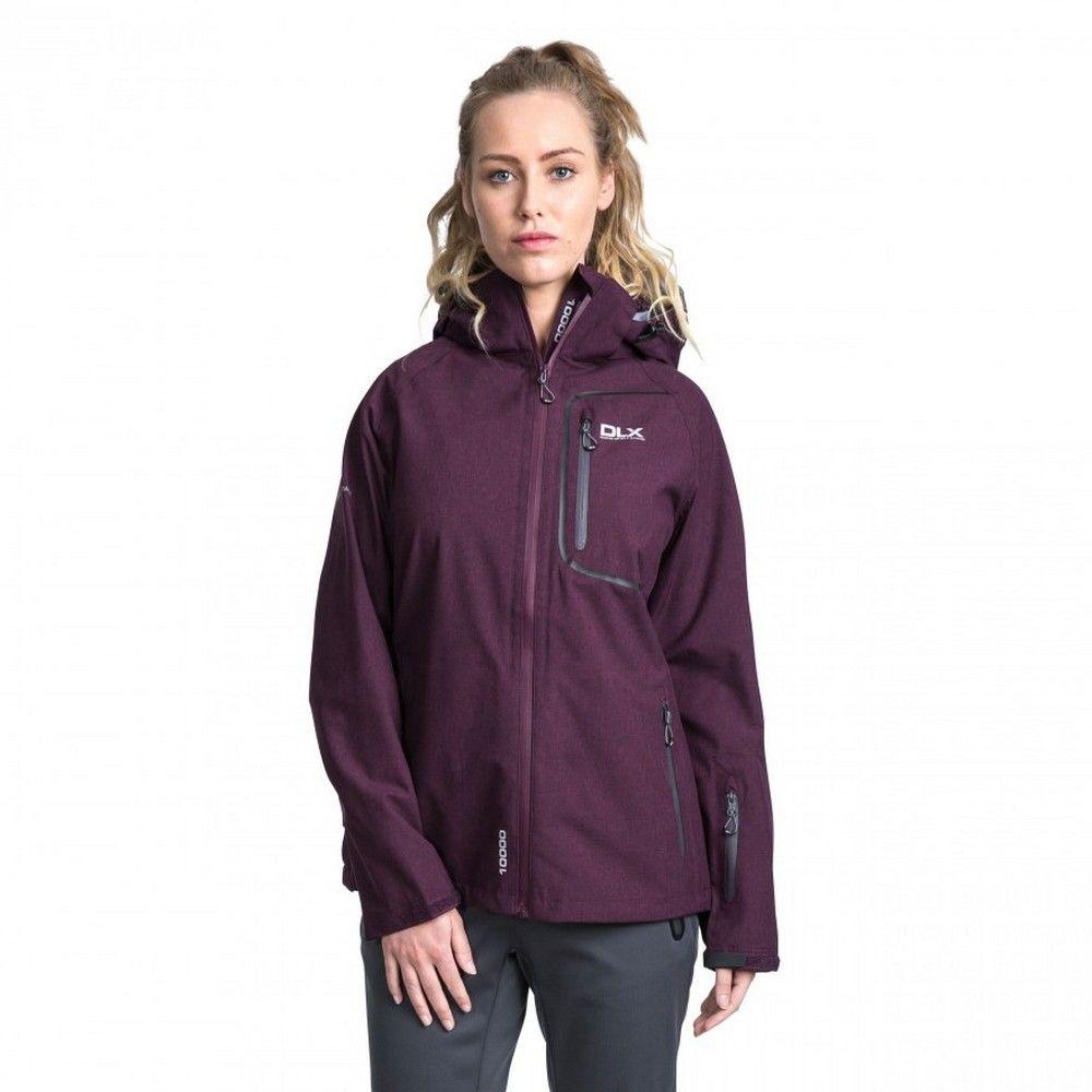 Trespass Womens/Ladies Gita II Waterproof Shell Jacket