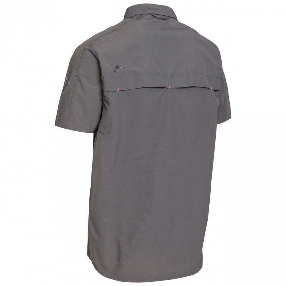 Trespass Mens Lowrel Short Sleeve Travel Shirt