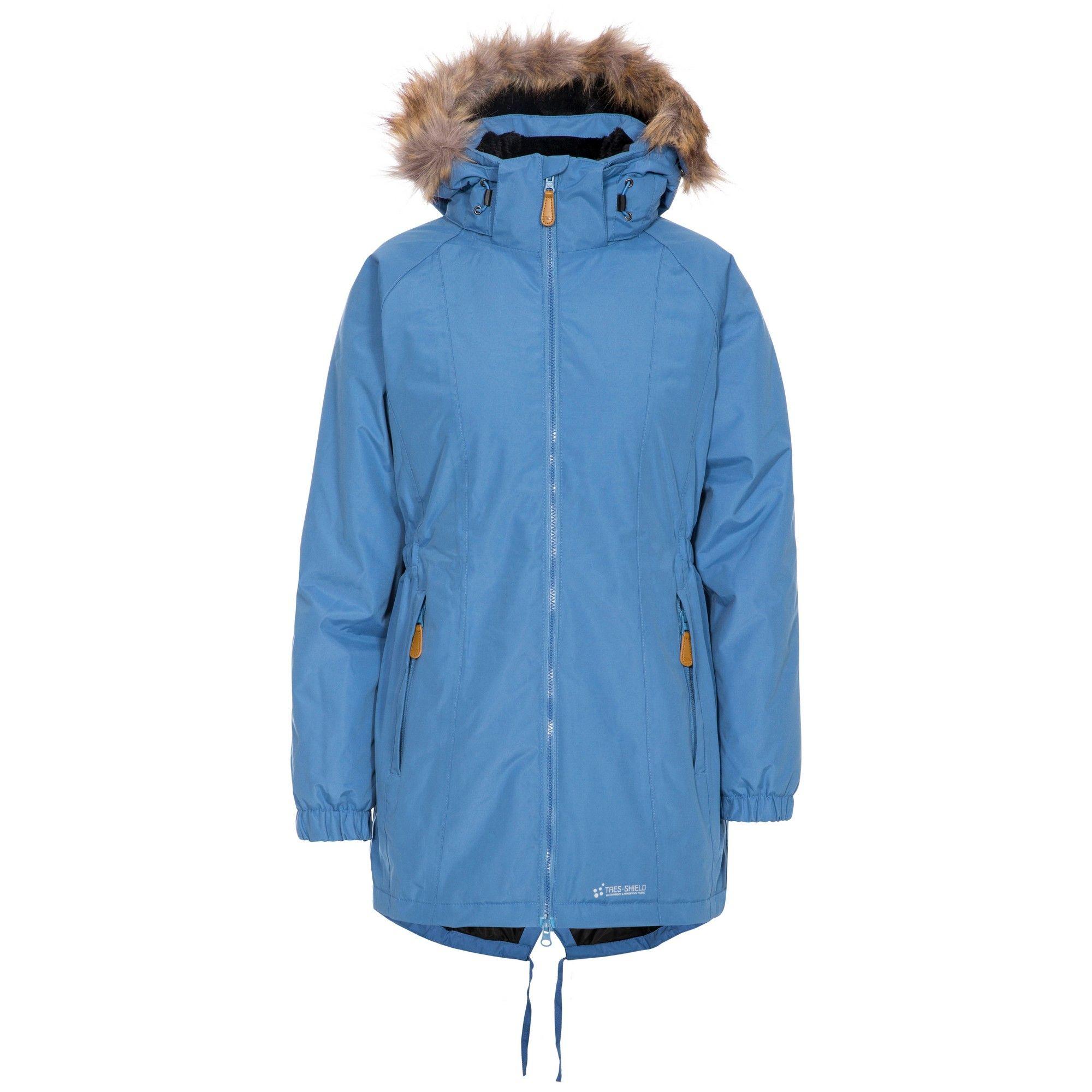 Trespass Women's Celebrity Insulated Longer Length Parka Jacket