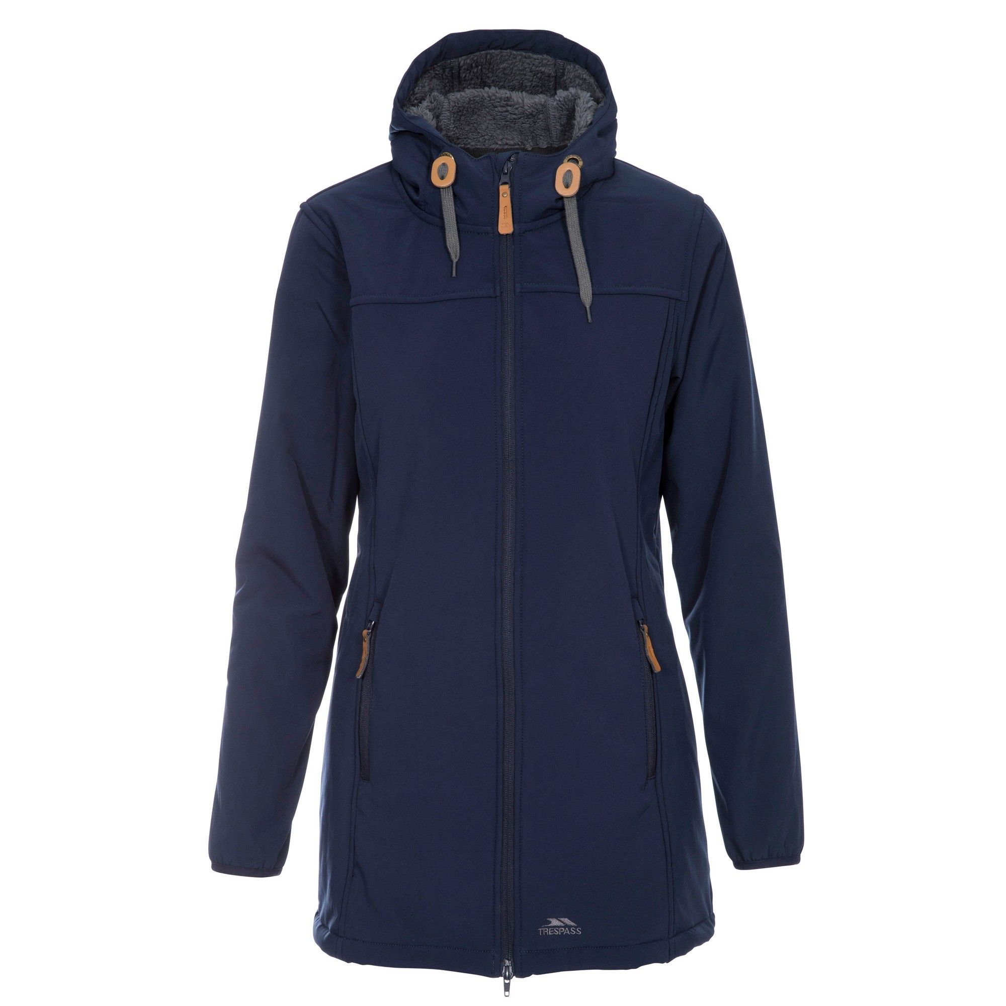Trespass Womens/Ladies Kristen Longer Length Hooded Waterproof Jacket