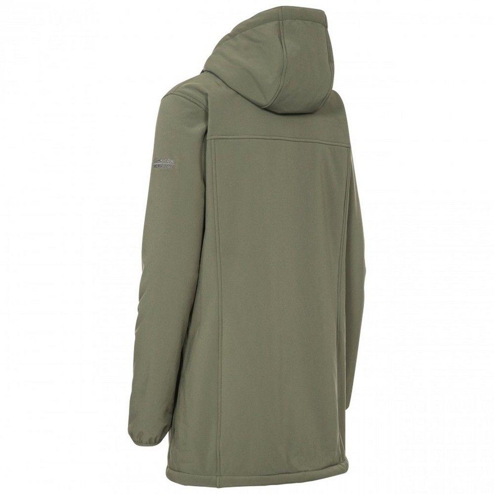 Trespass Womens/Ladies Kristen Longer Length Hooded Waterproof Jacket