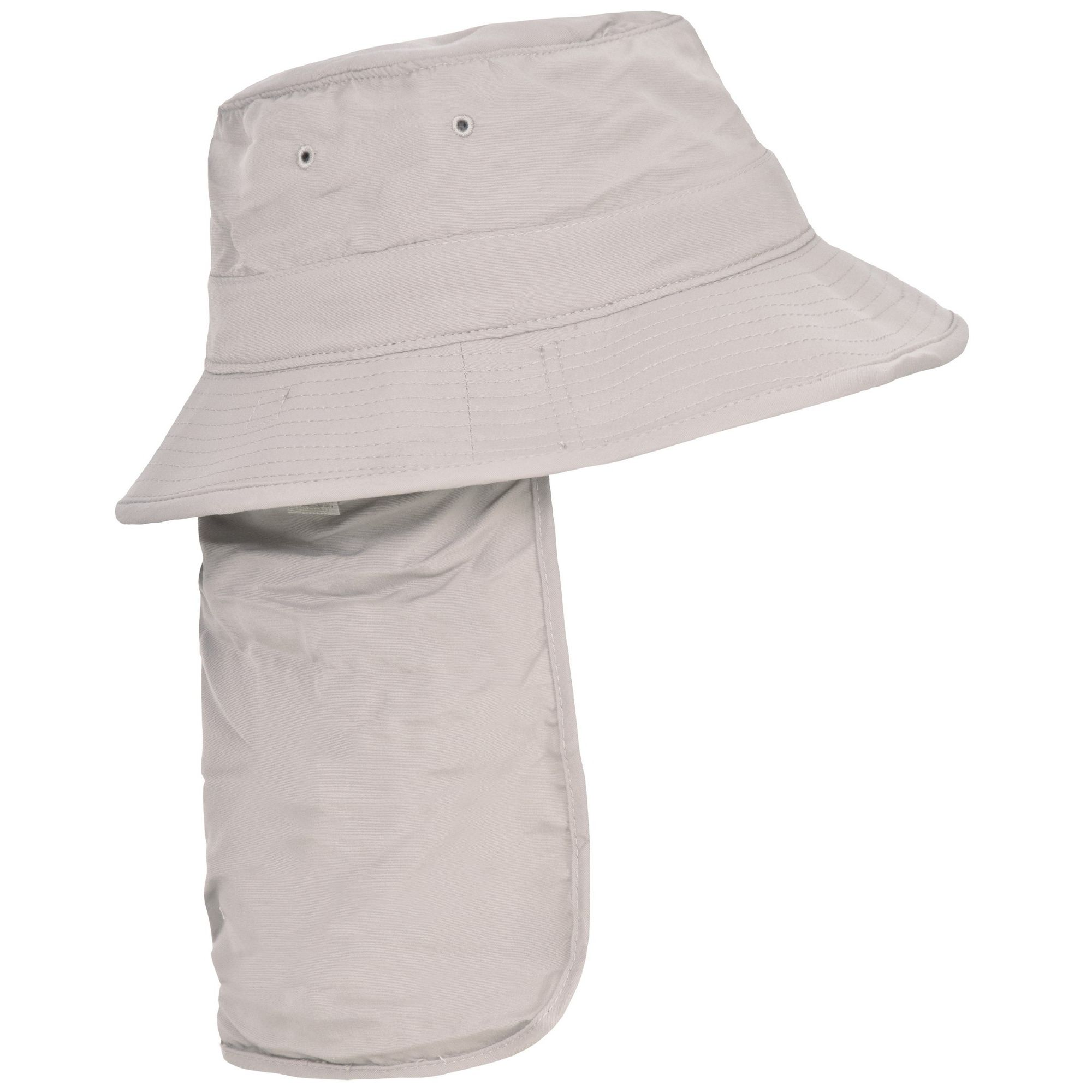 Trespass Adults Unisex Bearing Bucket Hat With Neck Protector