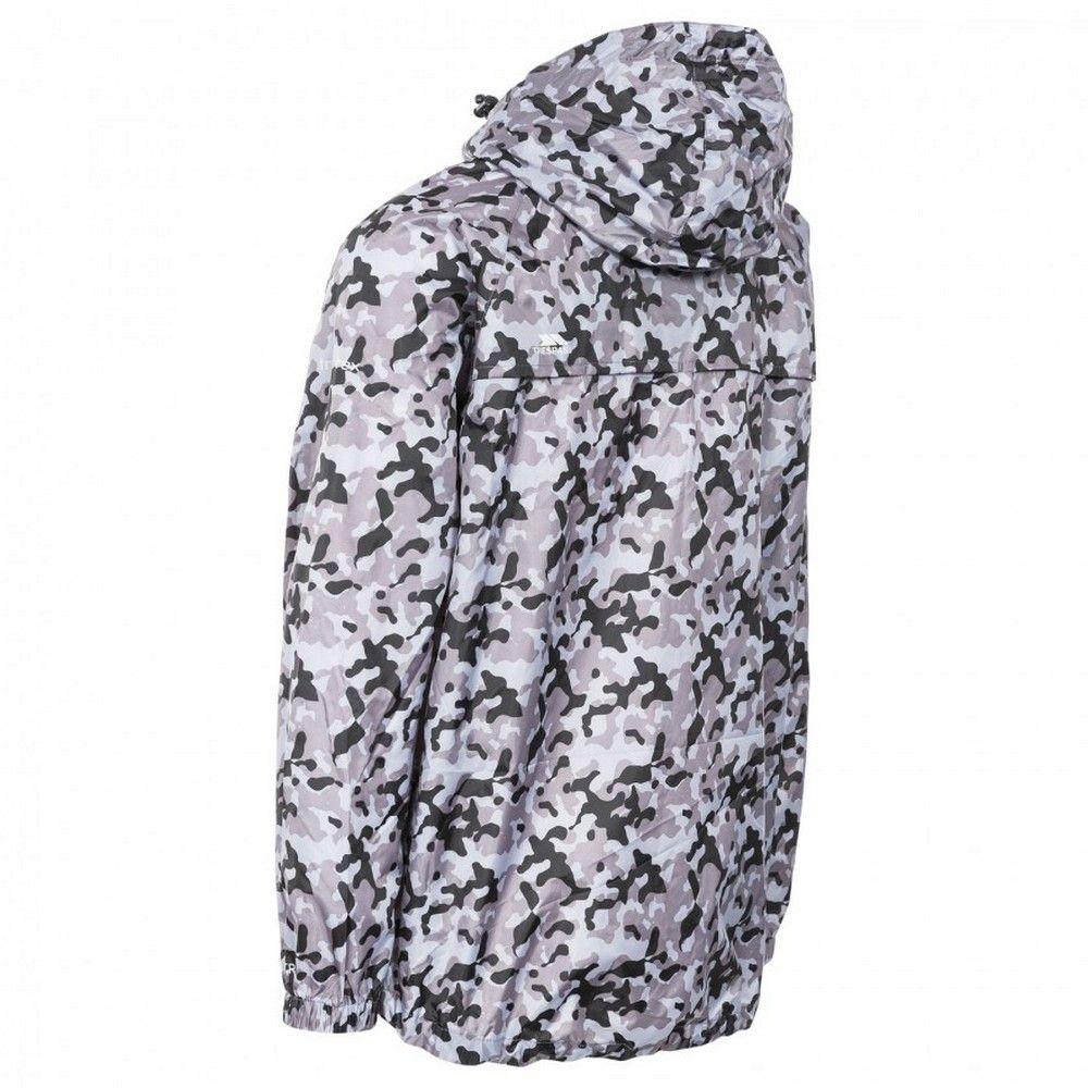 Trespass Qikpac Printed Packaway Waterproof Jacket