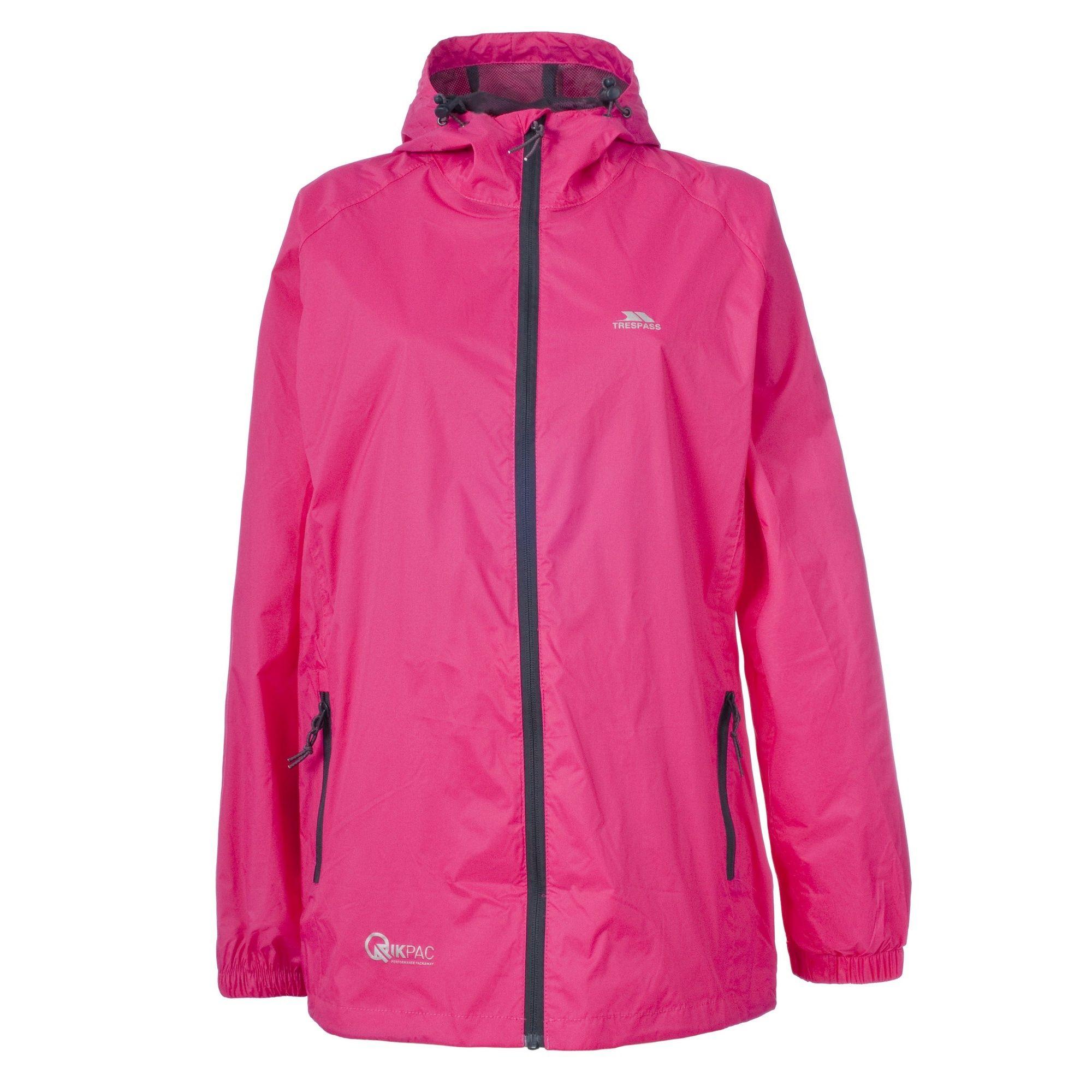 Trespass Adults Unisex Qikpac Packaway Waterproof Jacket