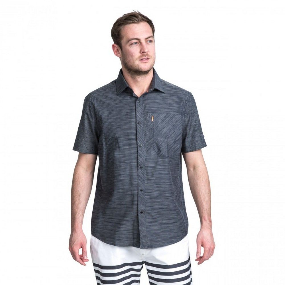 Trespass Mens Matadi Short Sleeve Shirt