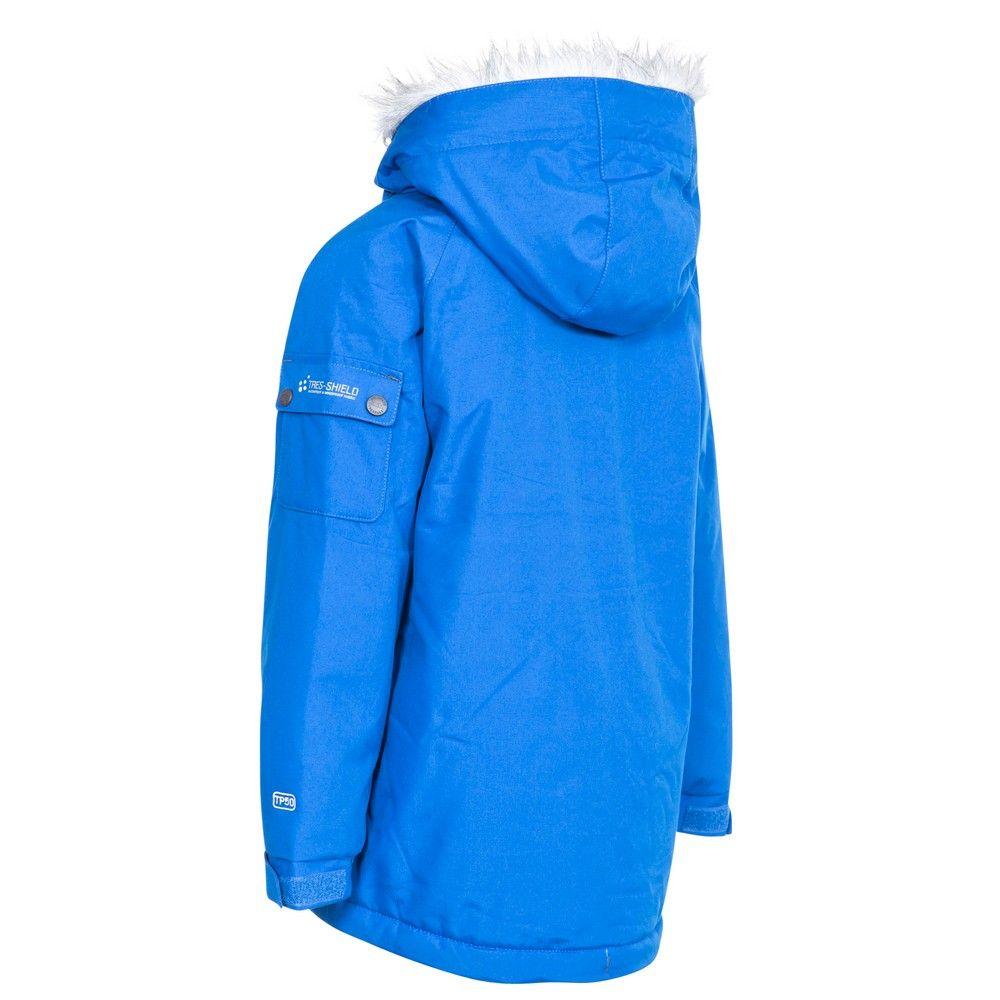 Trespass Boys Holsey Hooded Parka Jacket