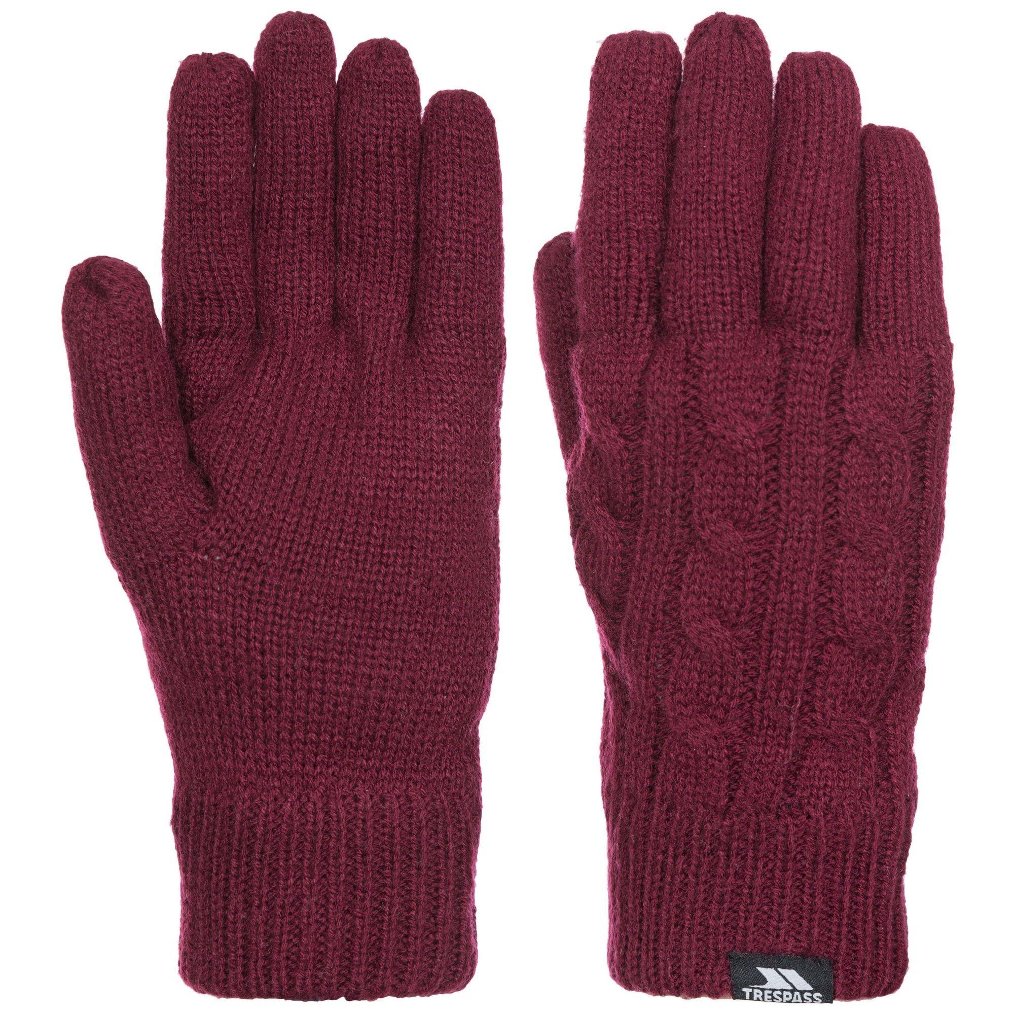 Trespass Womens/Ladies Sutella Knitted Gloves