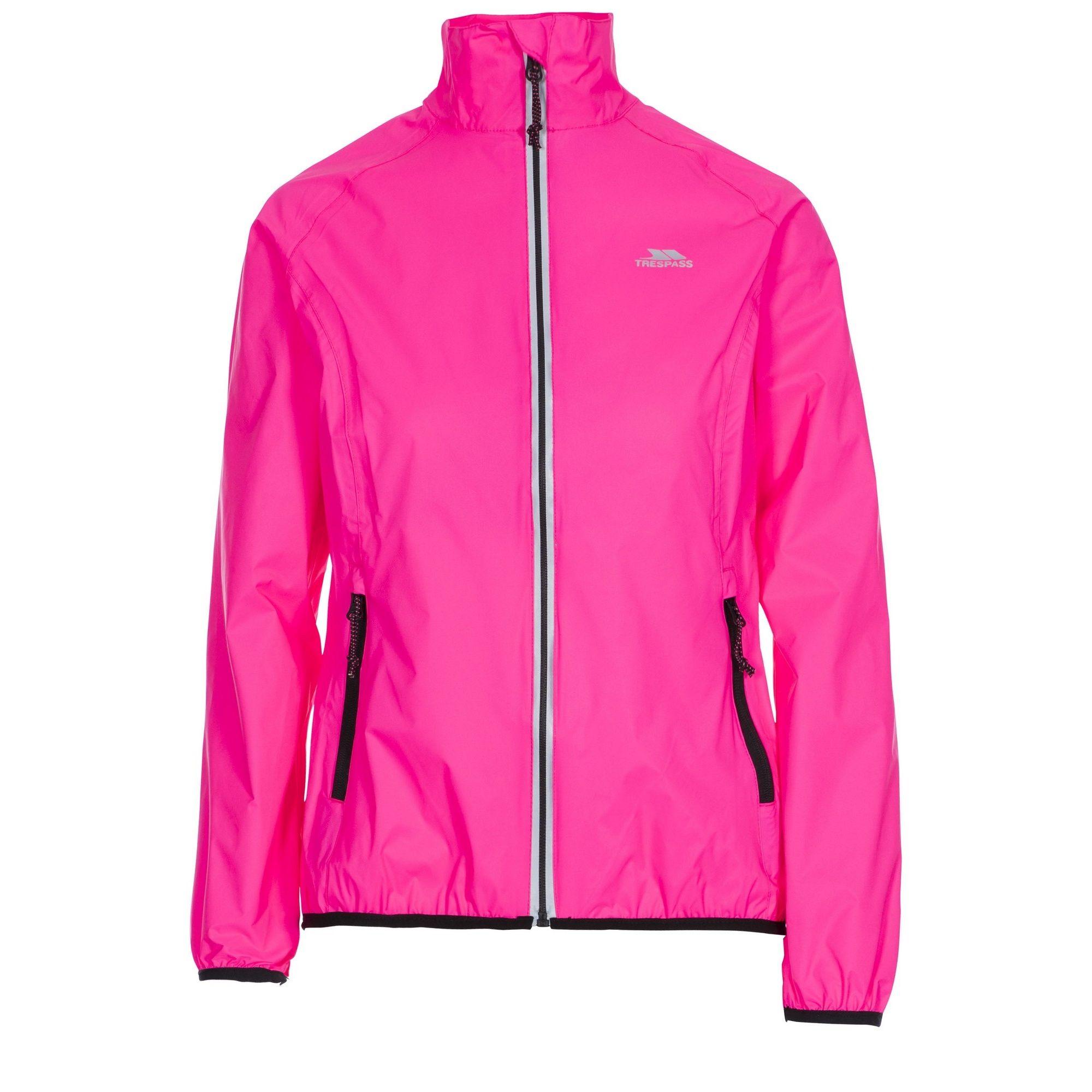 Trespass Womens/Ladies Beaming Packaway Hi-Vis Jacket