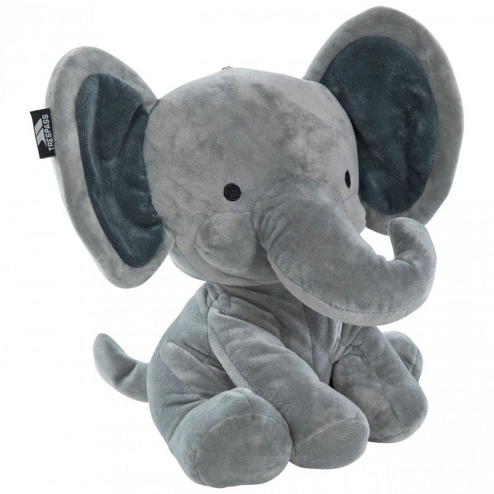 Trespass Childrens/Kids Zalika Elephant Convertible Travel Pillow