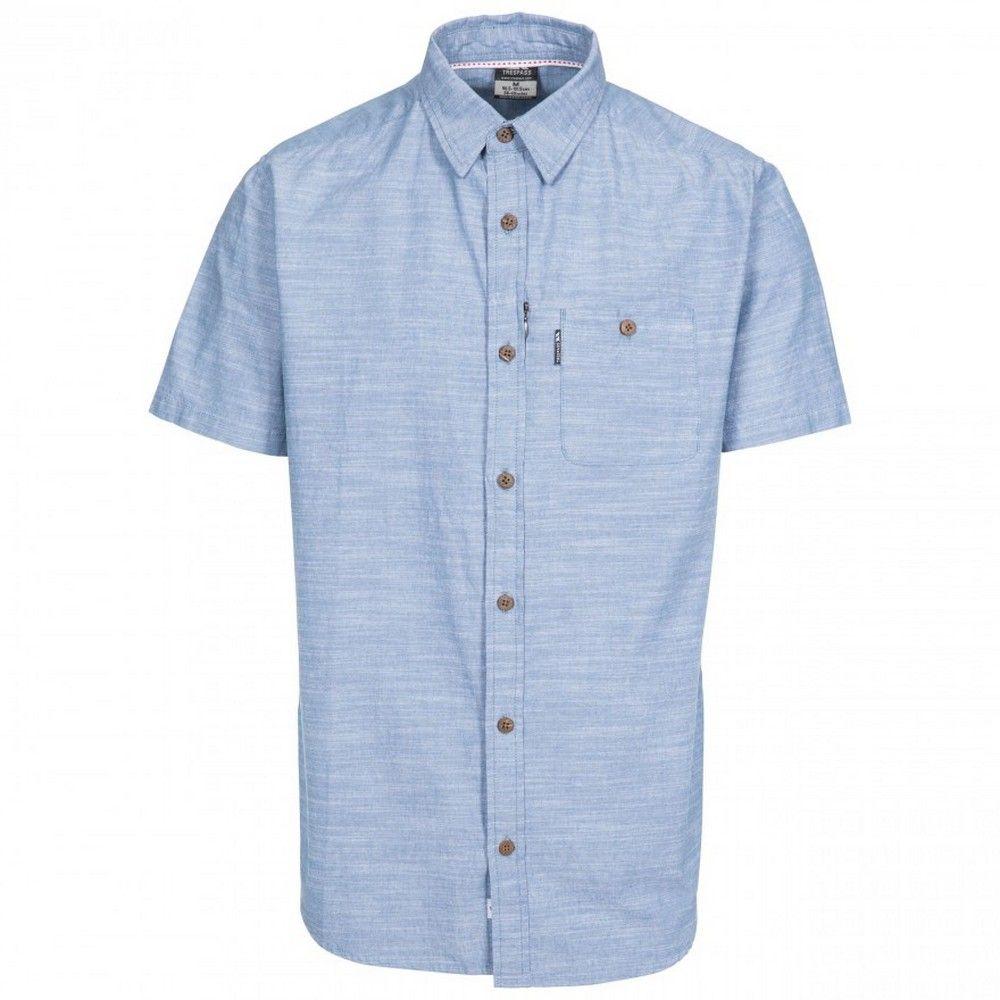 Trespass Mens Slapton Short Sleeve Shirt