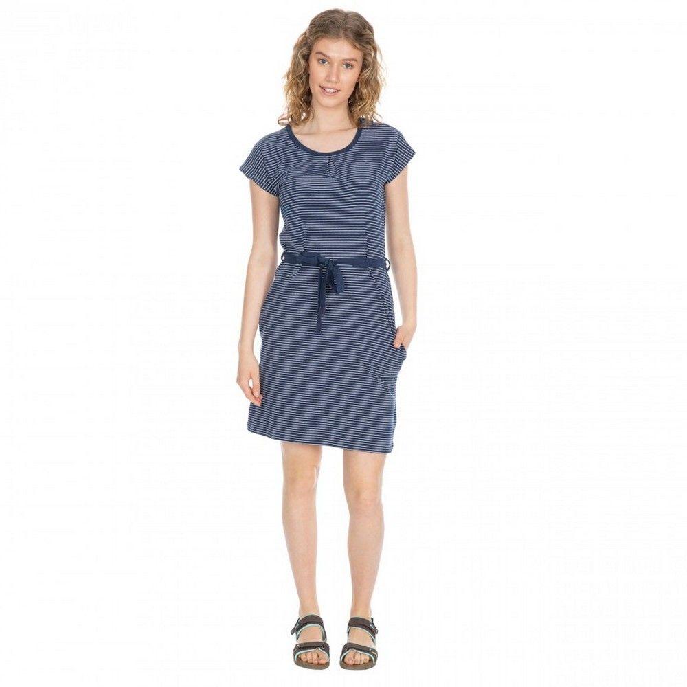 Trespass Womens/Ladies Lidia Round Neck Cotton Dress