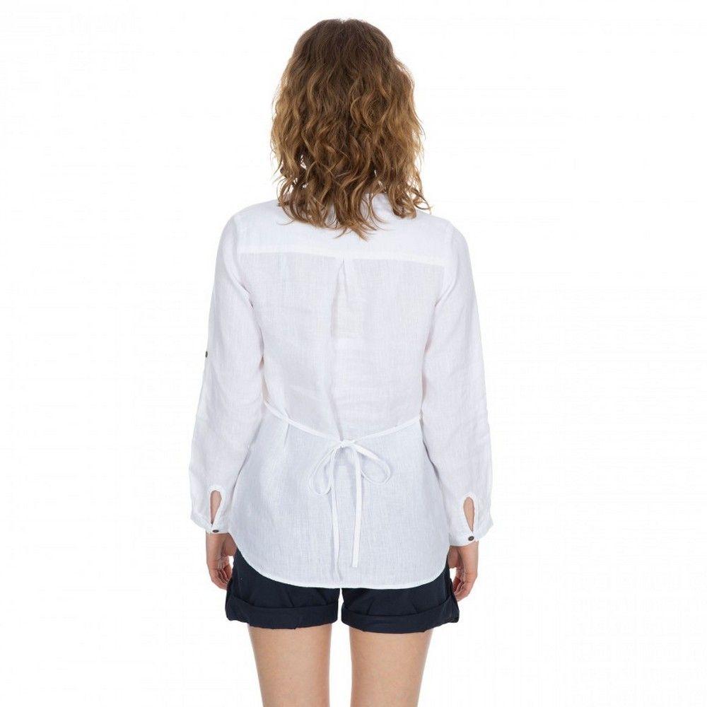 Trespass Womens Messina Casual Cotton Blouse