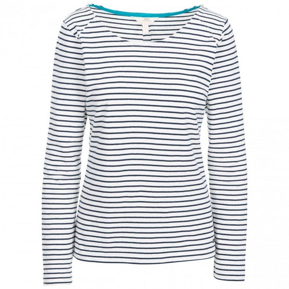 Trespass Womens Moomba Striped Long Sleeve T Shirt
