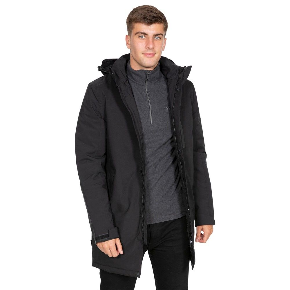 Trespass Mens Shoulton Padded Waterproof Breathable Jacket
