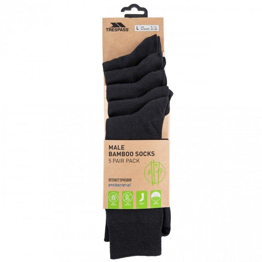 Trespass Mens Daily Walking Socks (Pack of 5)