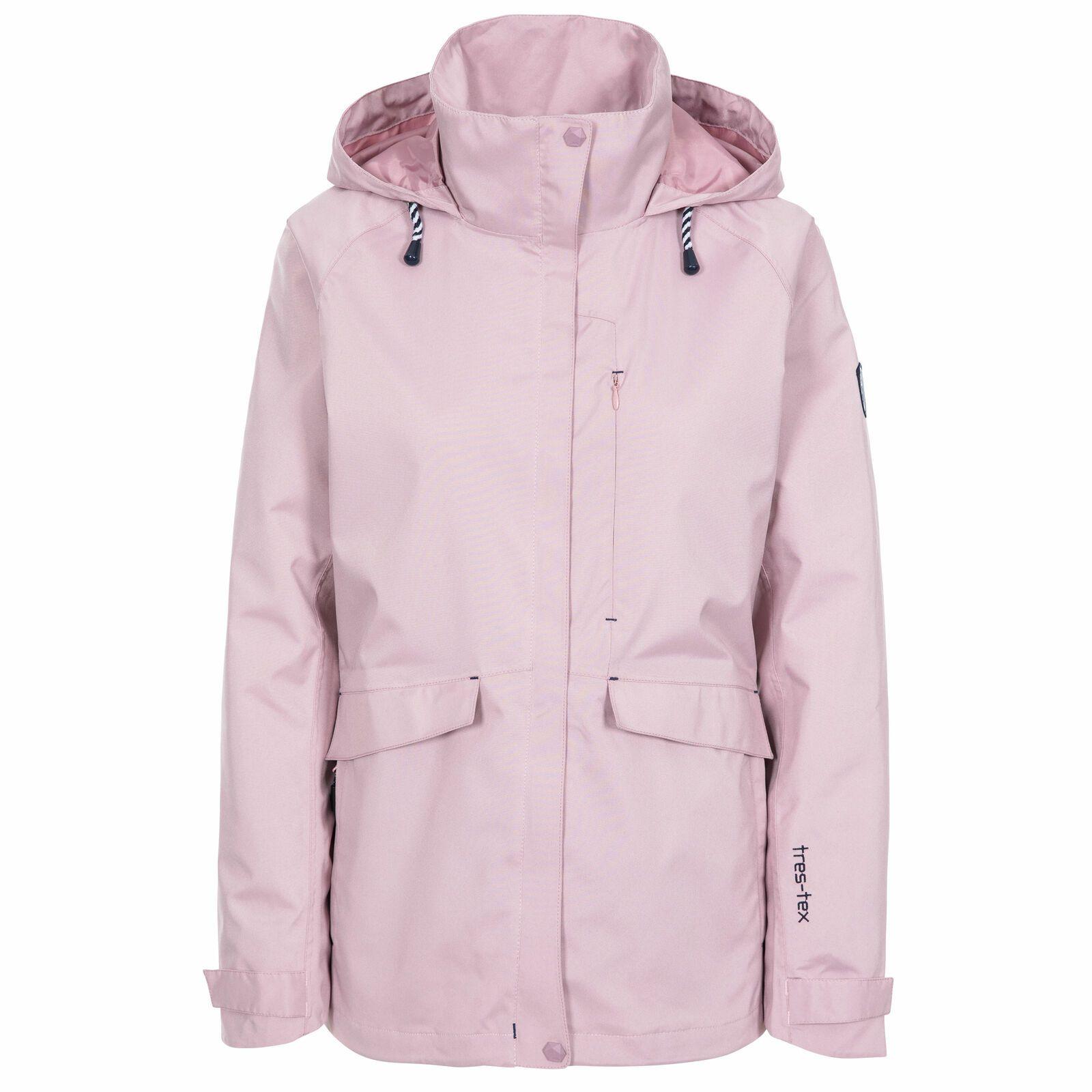 Trespass Womens/Ladies Voyage Waterproof Long-Sleeved Waterproof Jacket (Lavender Purple)