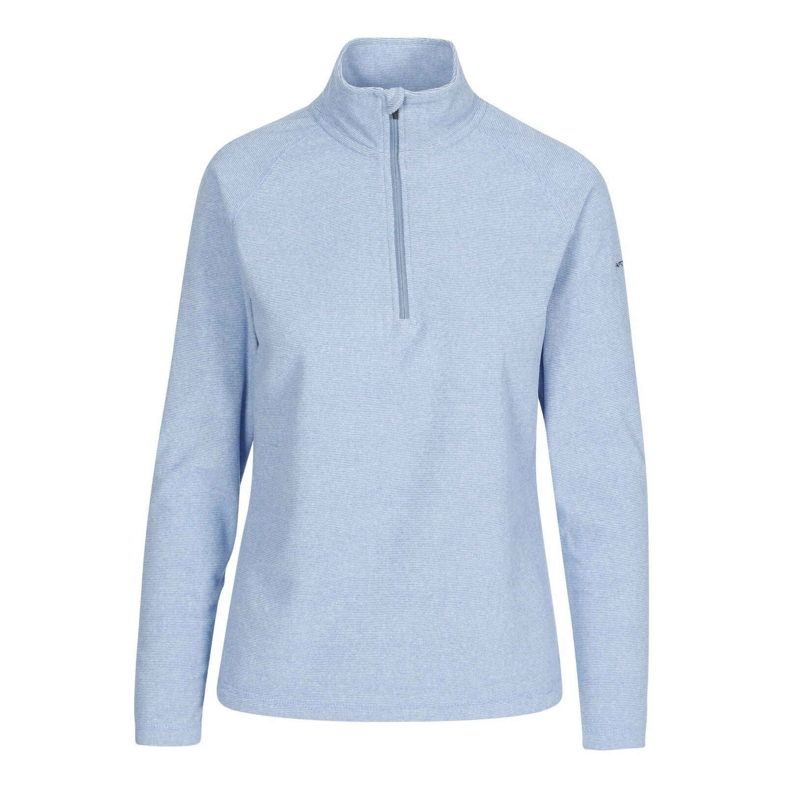 Trespass Womens/Ladies Meadows Fleece Top (Denim Blue)