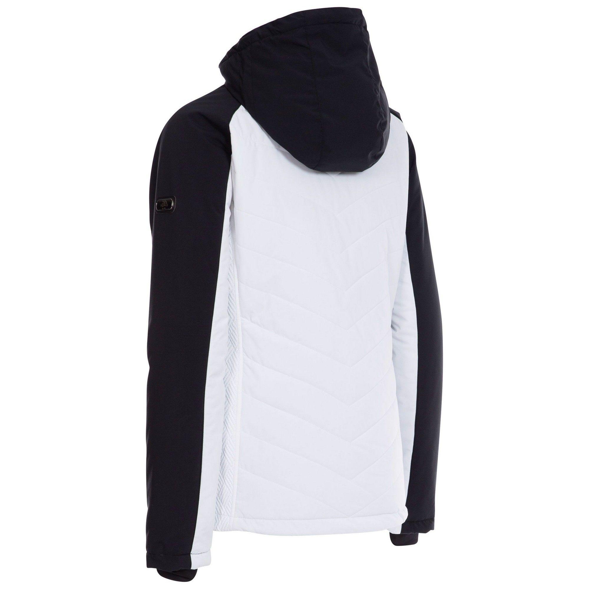 Trespass Womens/Ladies Eva Ski Jacket (White)