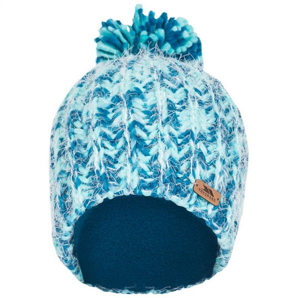 Trespass Womens/Ladies Mullida Knitted Beanie (Cosmic Blue)