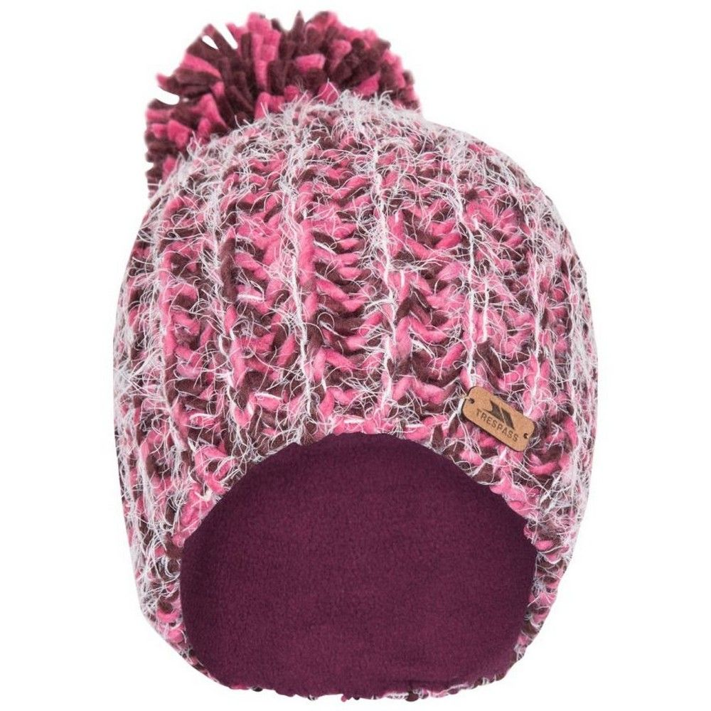 Trespass Womens/Ladies Mullida Knitted Beanie (Fig)