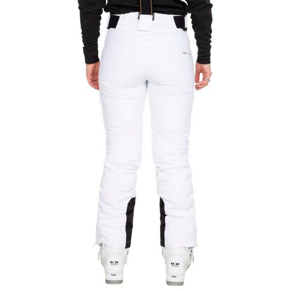 Trespass Womens/Ladies Sylvia Ski Trousers (White)