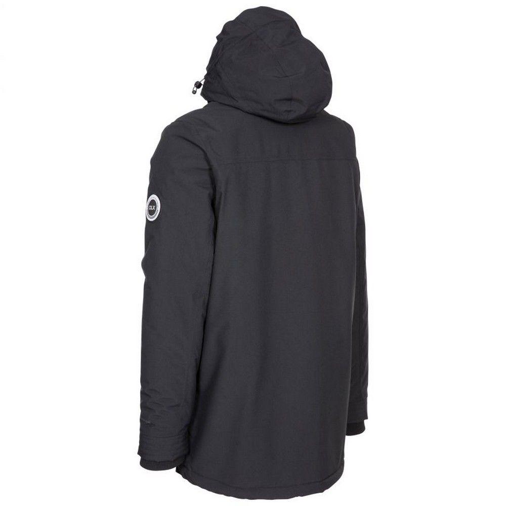 Trespass Mens Harris Waterproof Jacket (Black)