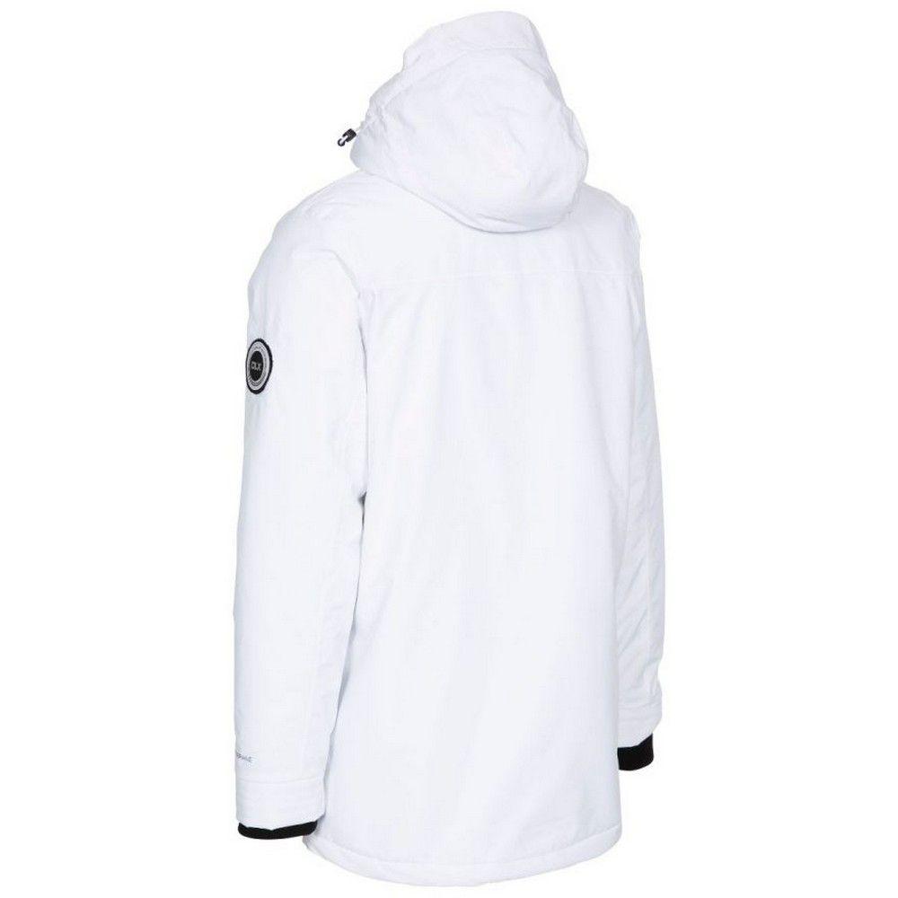 Trespass Mens Harris Waterproof Jacket (White)
