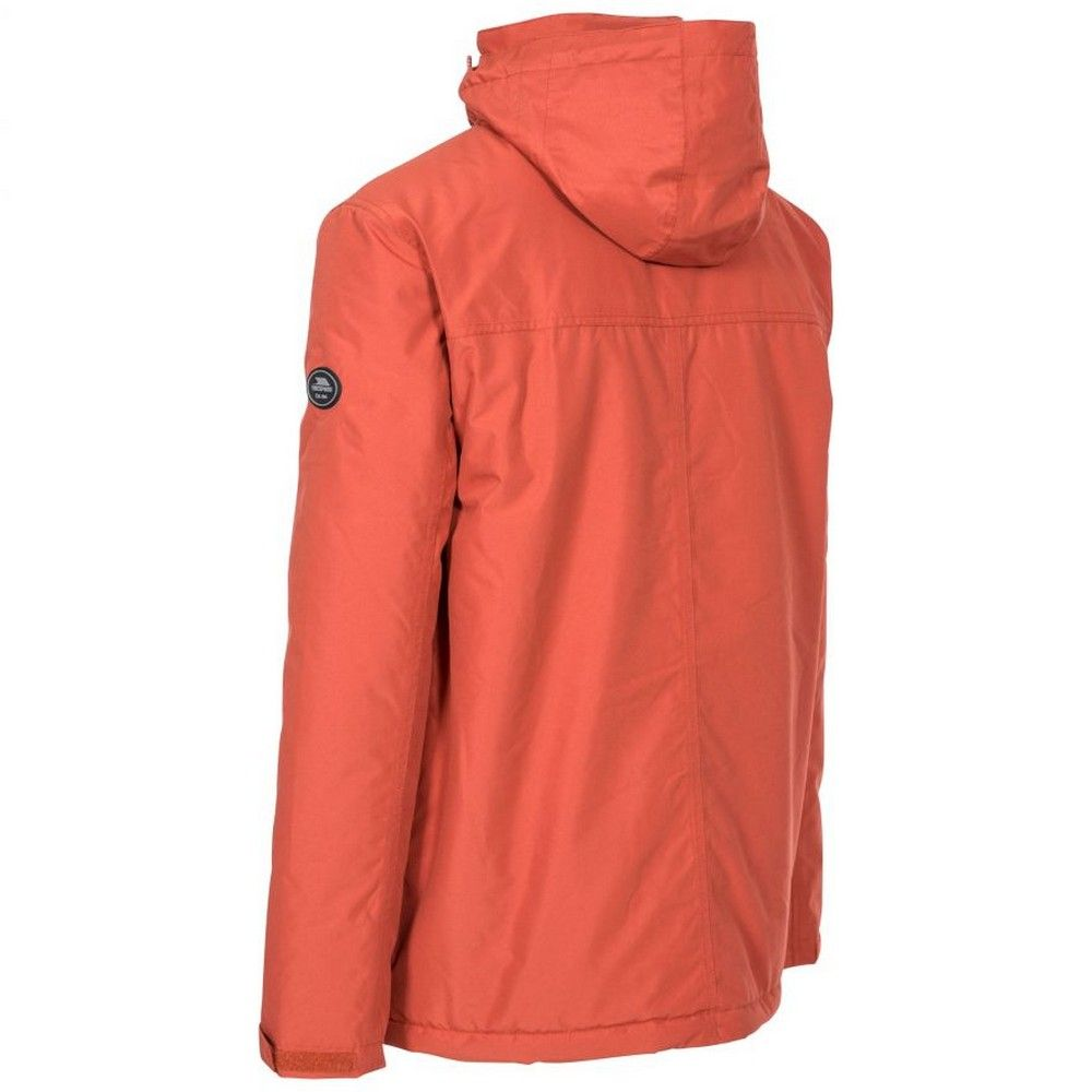 Trespass Mens Vauxelly Waterproof Jacket (Spice Red)