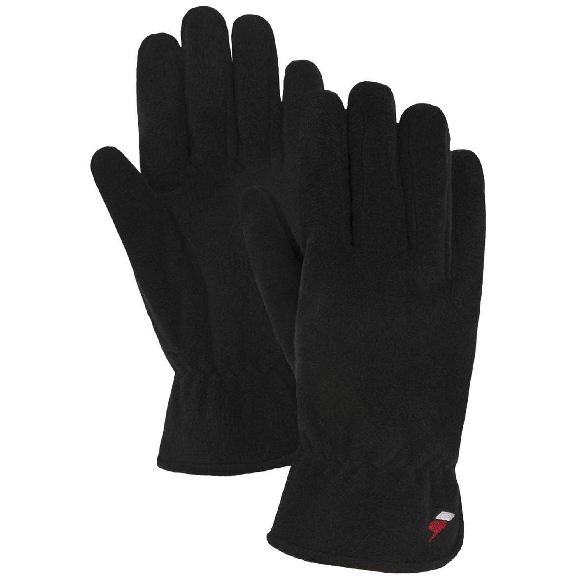 Trespass Womens/Ladies Plummet Fleece Gloves (Black)