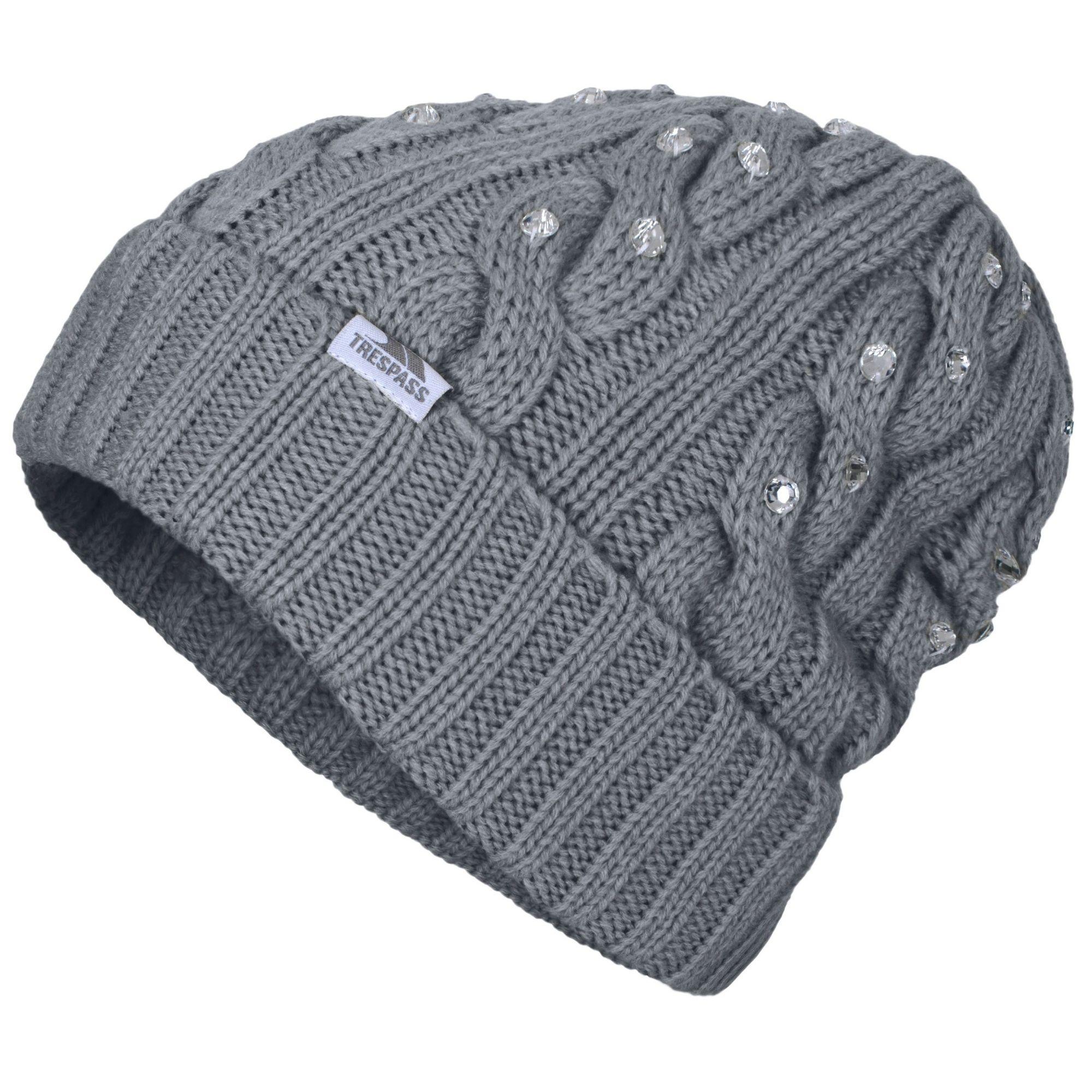 Trespass Womens/Ladies Litzy Embellished Beanie Hat