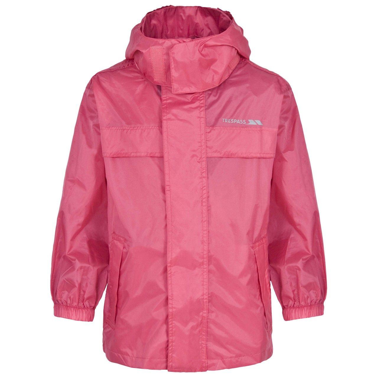 Trespass Kids Unisex Packa Pack Away Waterproof Jacket