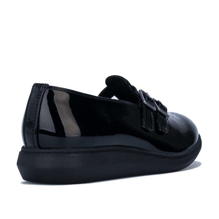 Women's Rocket Dog Menta Patent Shoes in Black