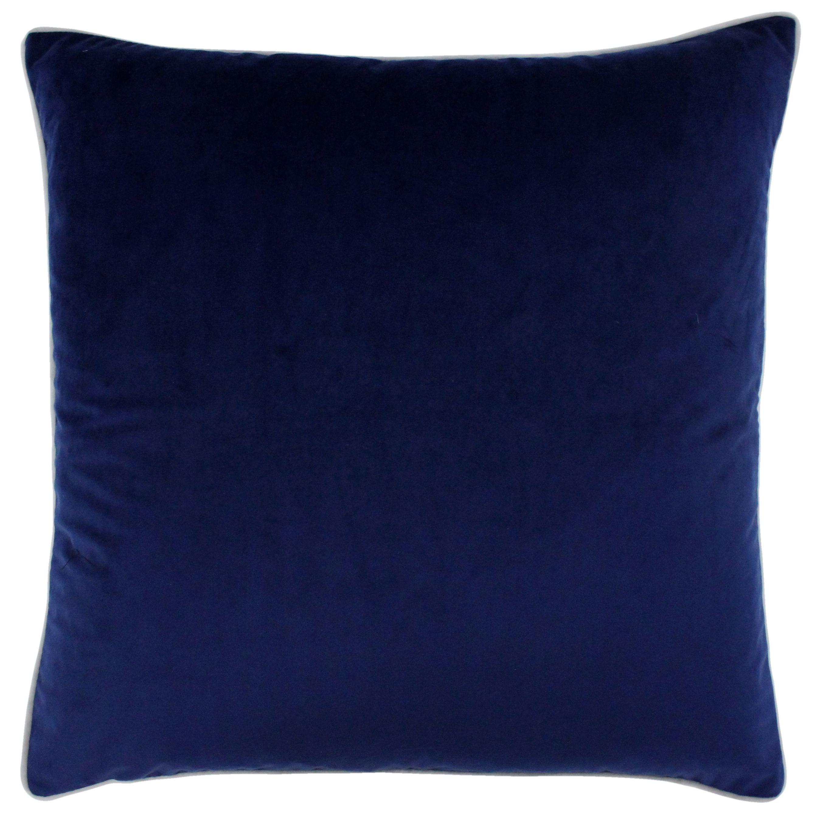 Meridian 55X55 Poly Cushion Nav/Sil