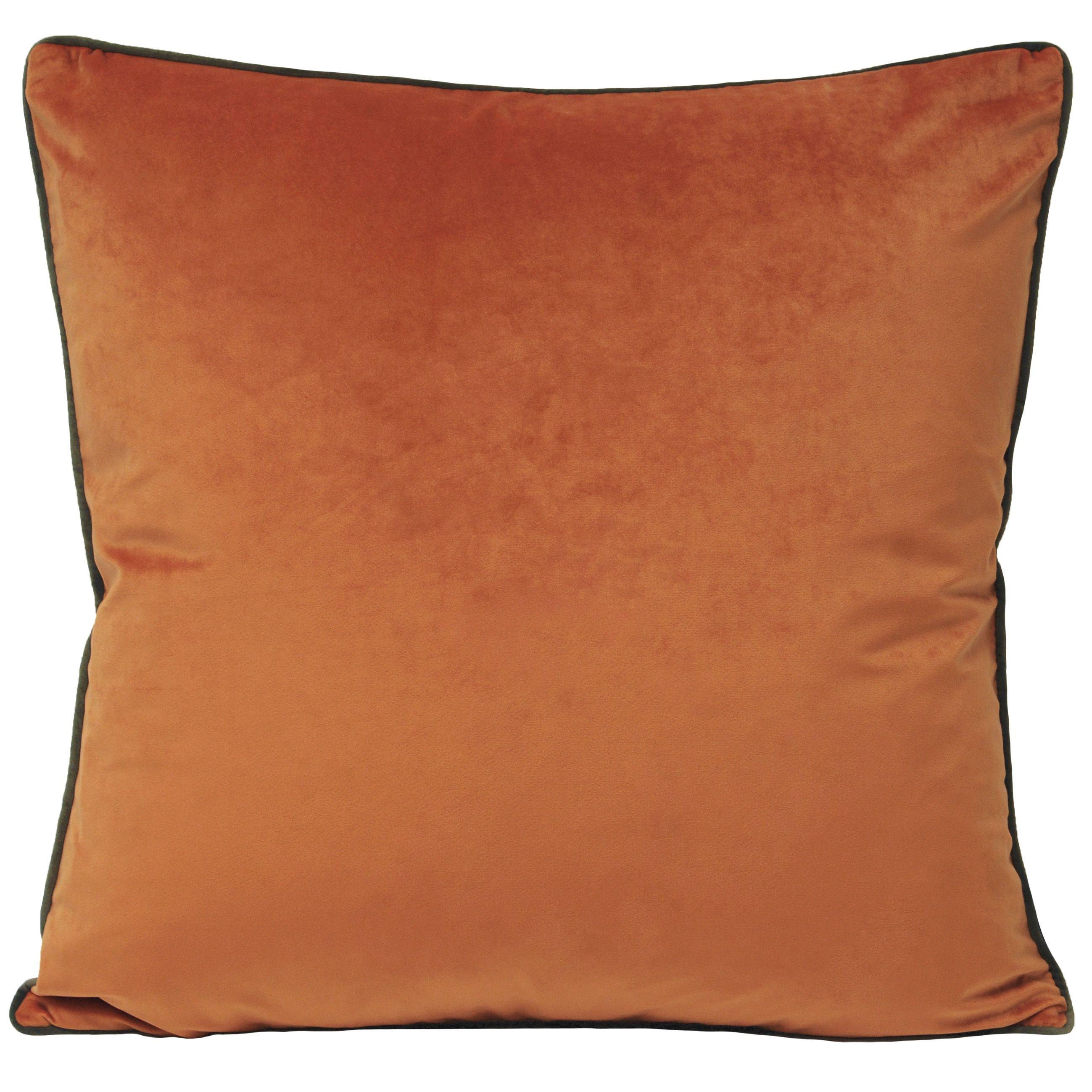 Meridian 55X55 Poly Cushion Pum/Moc