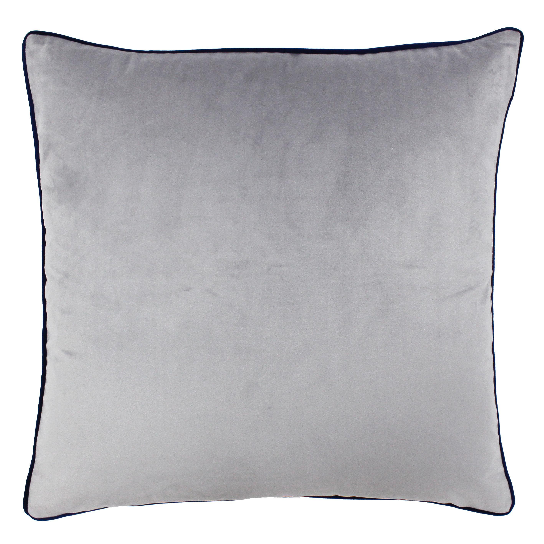 Meridian 55X55 Poly Cushion Sil/Nav