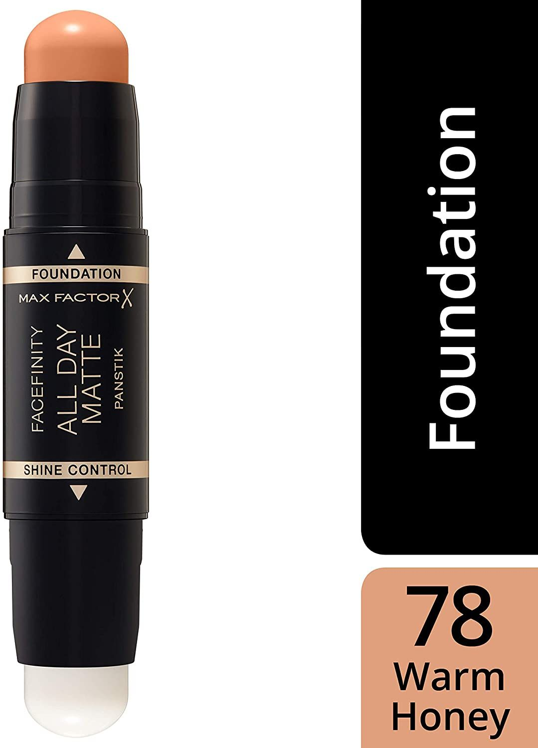 3x Max Factor Facefinity All Day Matte 2in1 PanStik Foundation 78 Warm Honey
