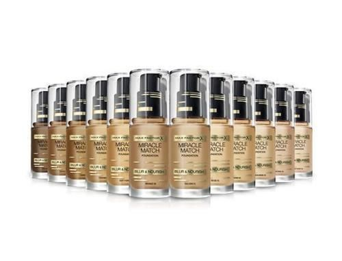 Max Factor Miracle Match Blur & Nourish Foundation 30ml - 90 Toffee
