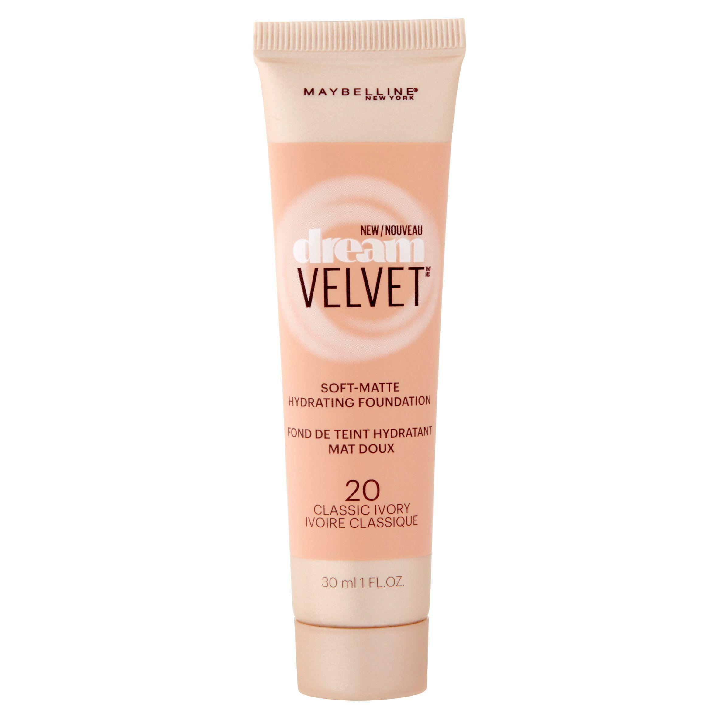 Maybelline New York Dream Velvet Soft Matte Foundation 30ml - 20 Classic Ivory