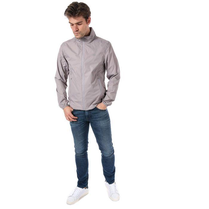 Men's Henri Lloyd Elve Light Shell Jacket in Grey