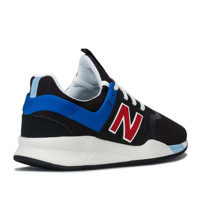 Men's New Balance 247v2 Trainers in black blue