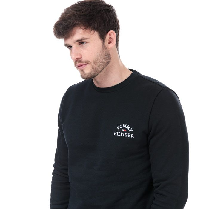 Men's Tommy Hilfiger Embroidered Sweatshirt in Navy