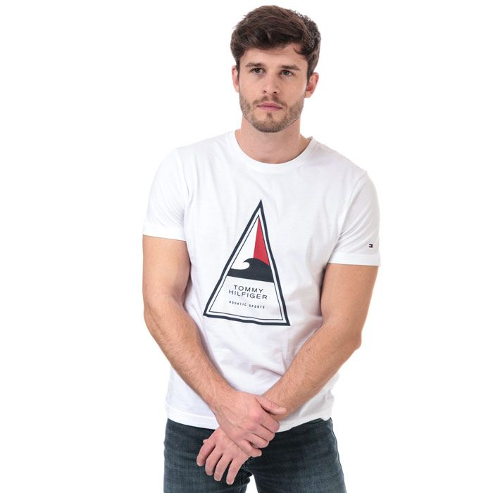 Men's Tommy Hilfiger TH Cool T-Shirt in White