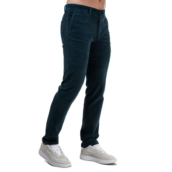 Tommy Hilfiger Men's Denton Corduroy Pants in Blue
